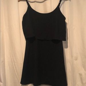 Abercrombie layering little black dress